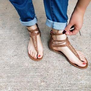 Caramel Brown Sandals